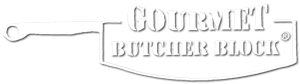 Gourmet Butcher Block Sticky Logo